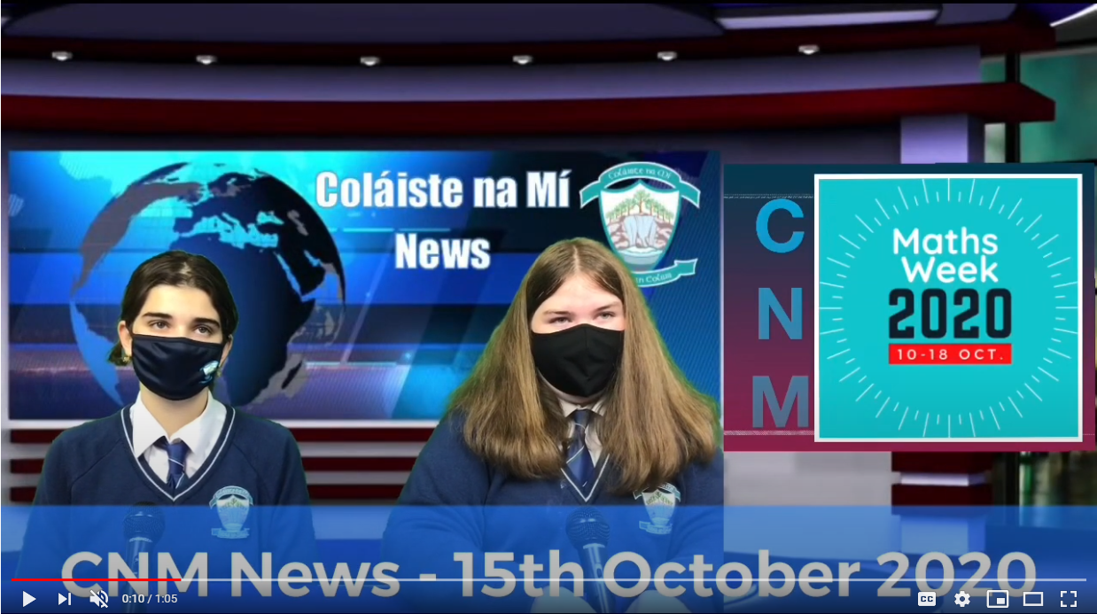 CNM News 1st October 2020